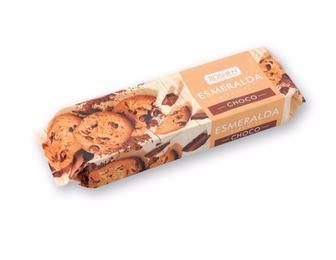 Печиво Есмеральда з кусочками шоколадної глазурі 150 г
