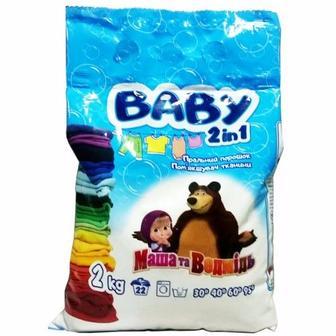 Пральний порошок для дитячих речей Baby  2кг