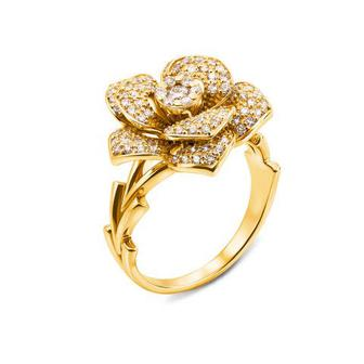 Золотое кольцо с бриллиантами. Артикул 53100/03/1/8021