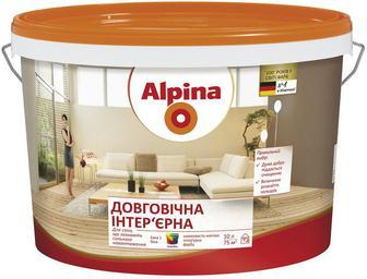 Фарба шовковиста матова Довговічна інтер'єрна  Alpina
