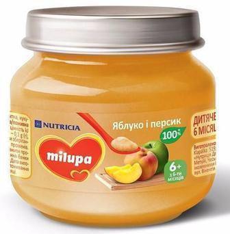 Пюре дитяче м'ясне/фруктове Milupa