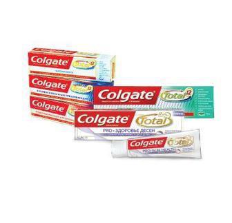 Зубна паста Тотал Колгейт 75 мл