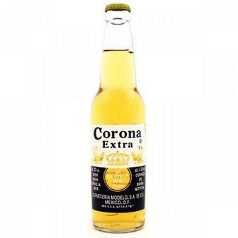 Пиво Corona Extra світле, 4,2%, 0,355л