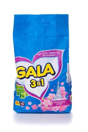 Стиральный порошок GALA автомат 3 в 1, 3000г