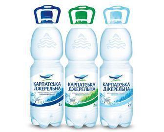 Вода минеральная Карпатська Джерельна 2 л