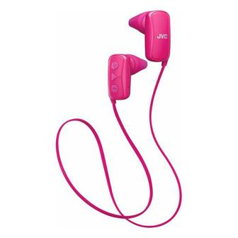Наушники JVC Gumy Wireless In-Ear Headphones (HAF250BTP) Pink
