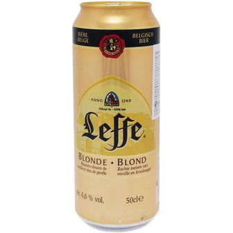 Пиво Blonde, Brune Leffe 0,5л