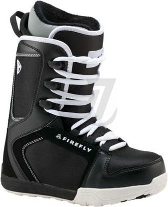 Черевики для сноуборда Firefly C30 JR р. 21 270422 чорний із білим