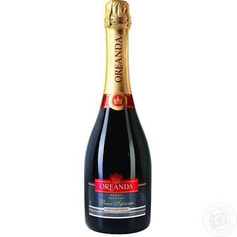 Вино игристое Ореанда , белое п/сл., 0,75 л