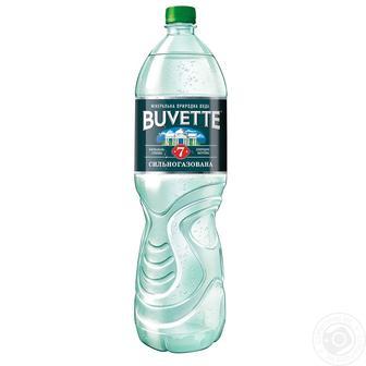 Вода Buvette №7 мінеральна сильногазована 0.5 л