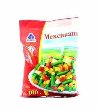 Суміш для смаження Мексиканська/Овочева суміш Дитячий МІкс Рудь 400г