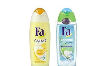 Гель/ Крем-гель для душу  Кокосова Вода  з екстрактом кокоса/ «Yoghurt» Аромат Ванільного меду з протеїнами йогурту  Fa  250 мл