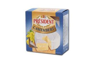 Сир м'який Камамбер President 90 г