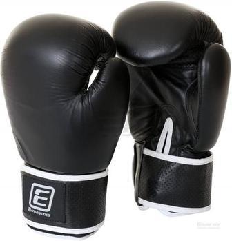 Боксерські рукавиці Energetics 225543 16oz Leather 225543 чорний чорний