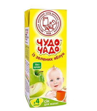 Сок Чудо-Чадо из зеленых яблок без сахара (с 4 месяцев) 200 мл