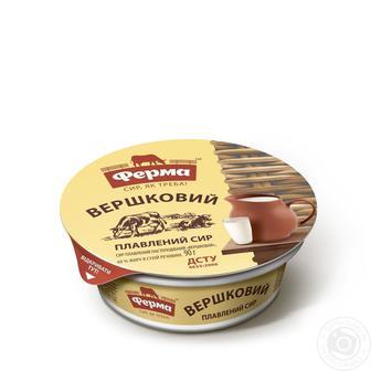Сир плавлений Янтар/Вершковий 60% 90г Ферма