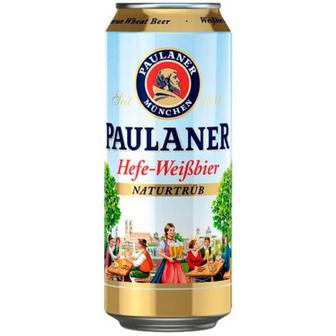 Пиво Paulaner Hefe-Weibbier 0,5л