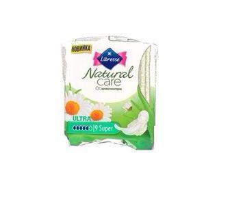 Прокладки Libresse Natural Care Ultra Clip Normal, 3 шт, 10 шт, 40 шт