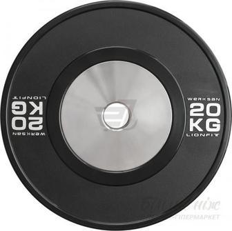 Диск для грифа Werksan DCUS082 Lionfit Custom 20 кг