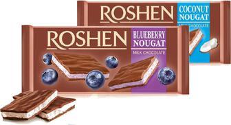 Шоколад Roshen з кокосовою нугою мол.90г