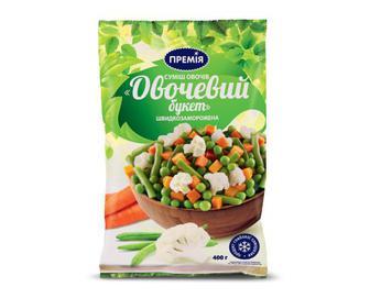 Суміш овочів заморожена «Овочевий букет» «Премія»® 400 г
