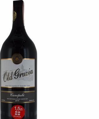 Вино Old Gruzia Саперави столовое красное сухое 13% Teliani Valley 1,5л