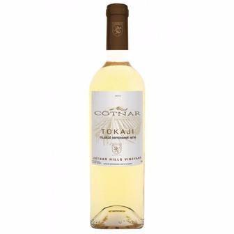 Вино червоне Merlot або біле Tocaji напівсолодке Cotnar 0,75 л