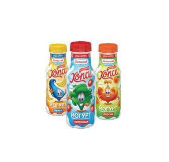 Йогурт Хопси 1,5% Яготинське для дітей, 200 г