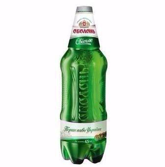 Пиво Світле Оболонь 1,2 л