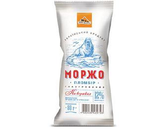 Морозиво «Моржо» пломбір-ескімо «Три ведмеді» 80 г