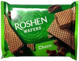 Вафлі Roshen Wafers шоколад 72г