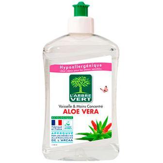 Засіб L`Arbre Vert для миття посуду та рук Алое Вера 500мл