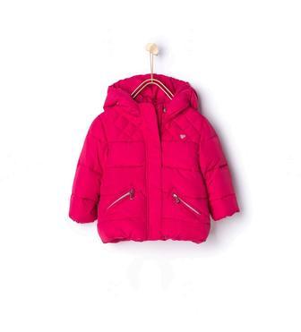 Стьобана куртка з капюшоном  1255/550