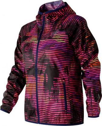 Вітрівка New Balance Windcheater Printed Jacket WJ71163SVL M різнокольоровий