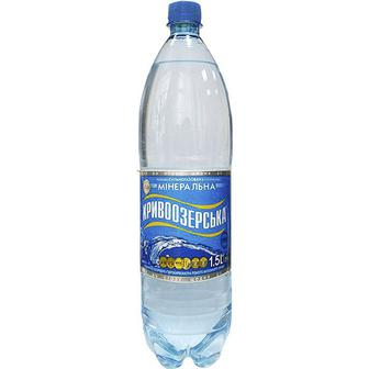 Мінеральна вода сильногазована 1,5л Кривоозерська