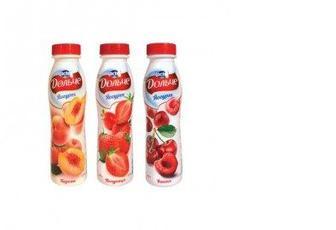 Йогурт Дольче 2,5% бутылка, PRESIDENT, 290 г