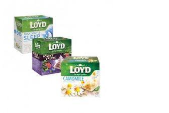 Чай Loyd, 20 пирамидок