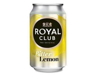 Напій безалкогольний газований, Гіркий лимон, Royal Club, 0,33 л