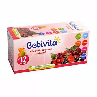Фиточай Bebivita UA1377 детский ягодный 30 г