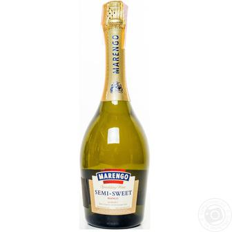 Акция ▷ Вино ігристе н/с біле Маренго 0,75л