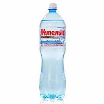 Вода Поляна Купель 5, газована, Алекс 1,5 л