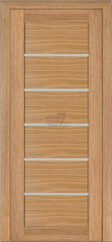 Дверне полотно шпоноване Terminus №137 ПГ 800 мм дуб світлий