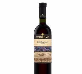 Вино напівсолодке біле Бордо або червоне Бастардо Коблево, 0,75л