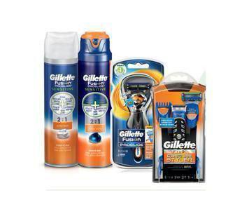 Станки для гоління, засоби до та після гоління Gillette Fusion Pro Glide