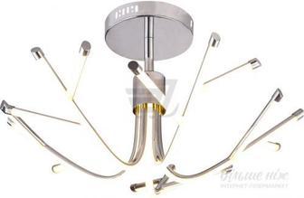 Люстра світлодіодна Геотон GTN-612А/5С 48170 72 Вт хром