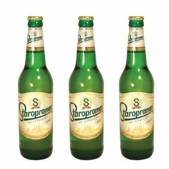 Пиво Старопрамен, світле, 0,5л