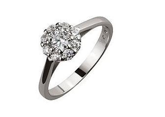 Золотое кольцо с фианитами 01-17094527