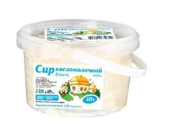 Сир к/м 10% Хуторок 400 г