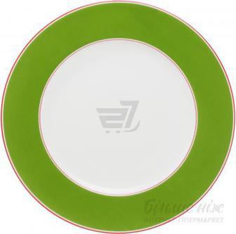 Тарілка підставна Emotion 27 см зелена Auratic