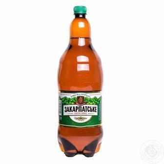 Скидка 31% ▷ Пиво Закарпатское светлое ППБ 2л
